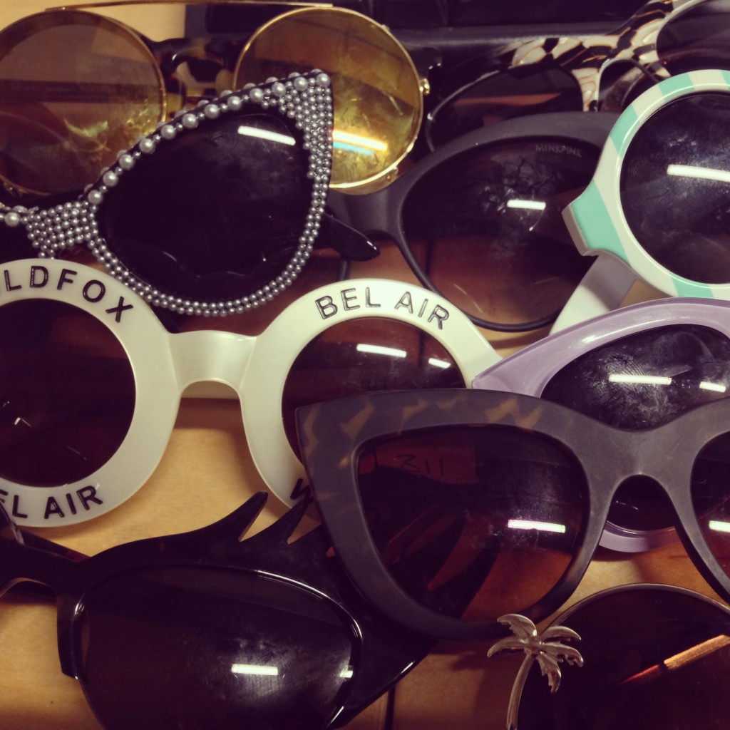 A picture of fashion sunglasses