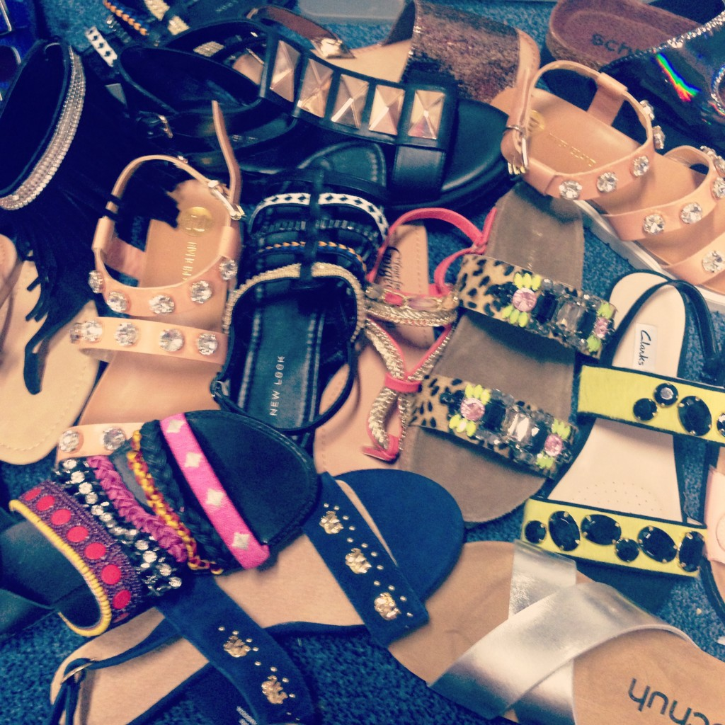 A picture of womens shoes