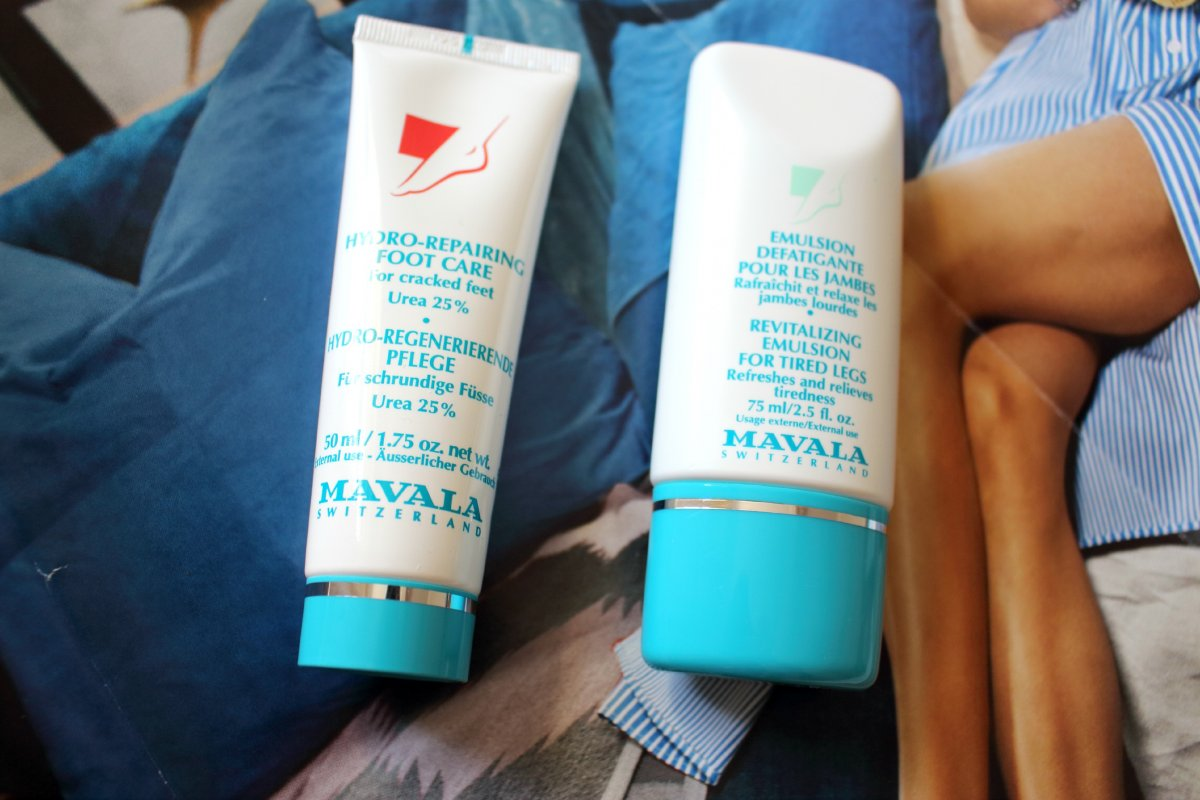 A picture of Mavala leg and foot cream
