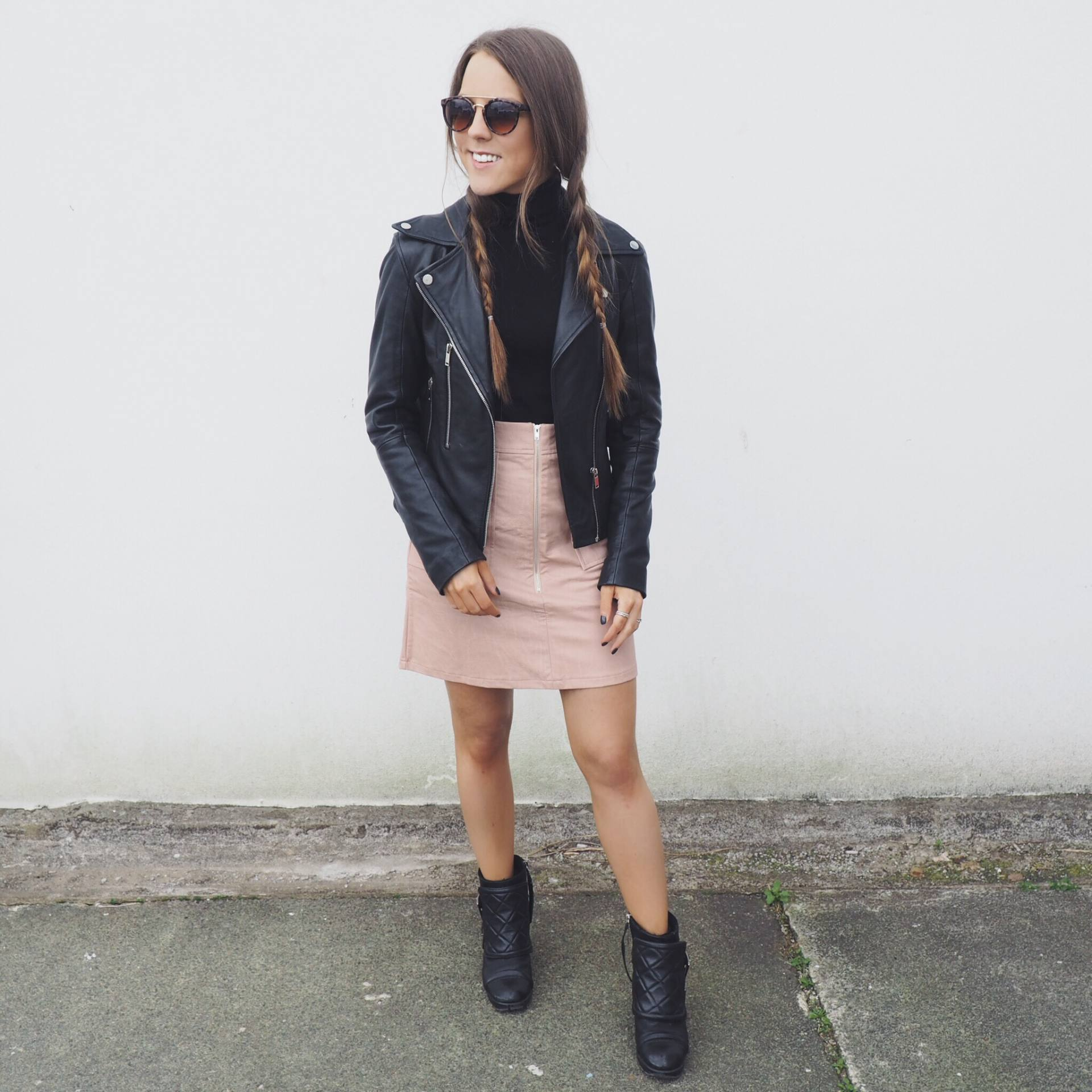 A picture of a Little Mistress nude skirt