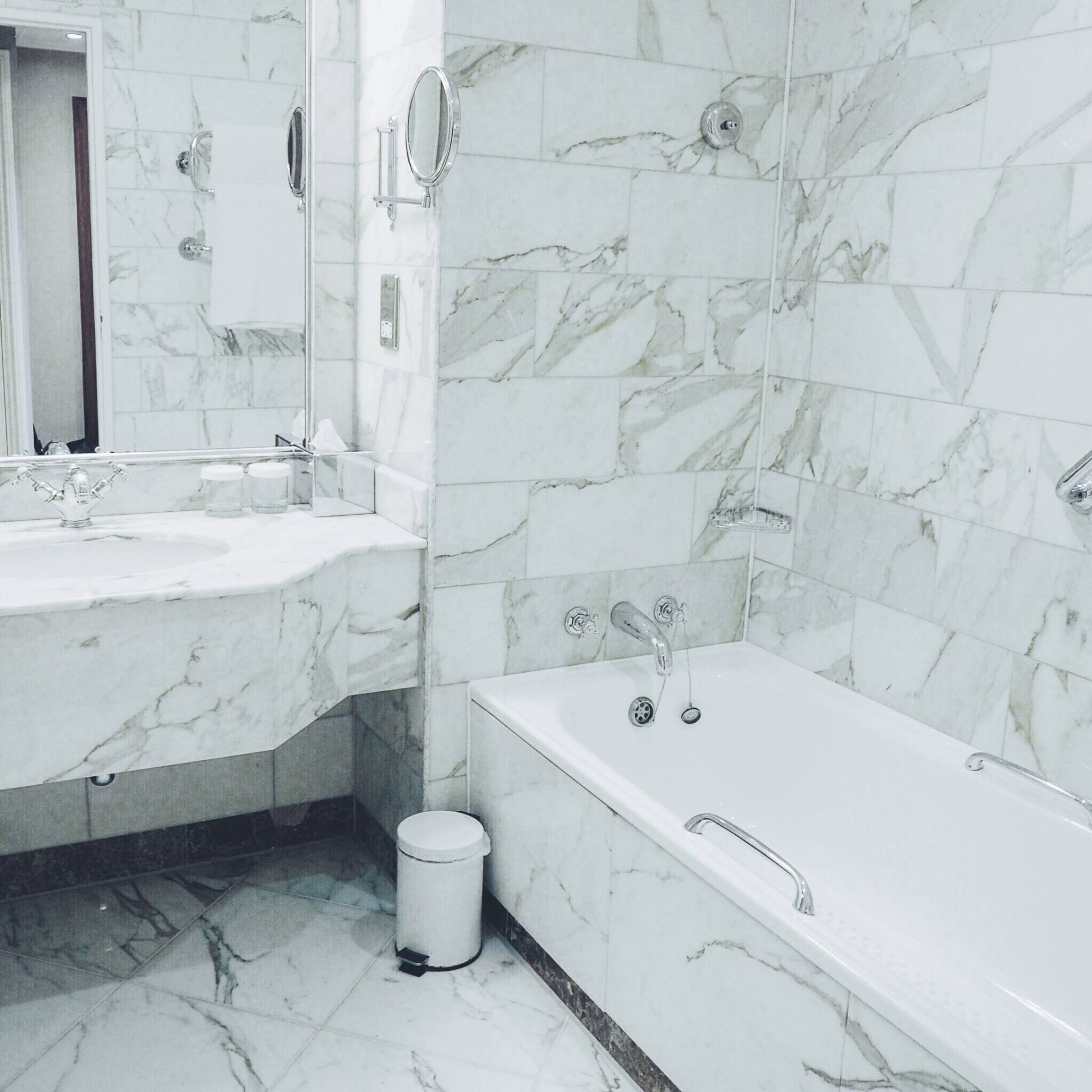 A picture of the Celtic Manor Marble Bathroom