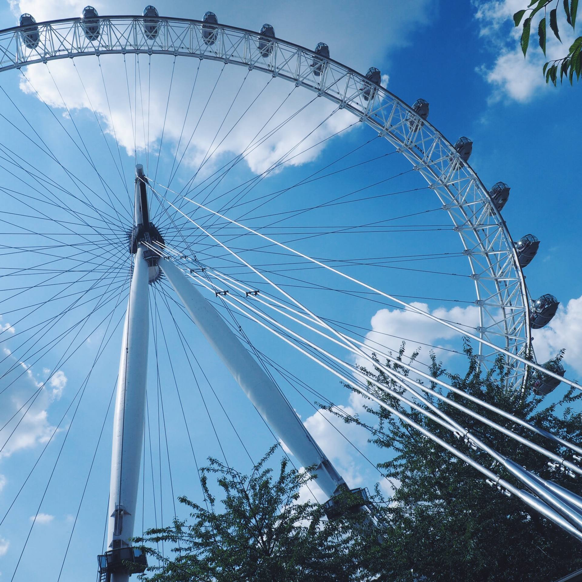 Sightseeing and the London Eye