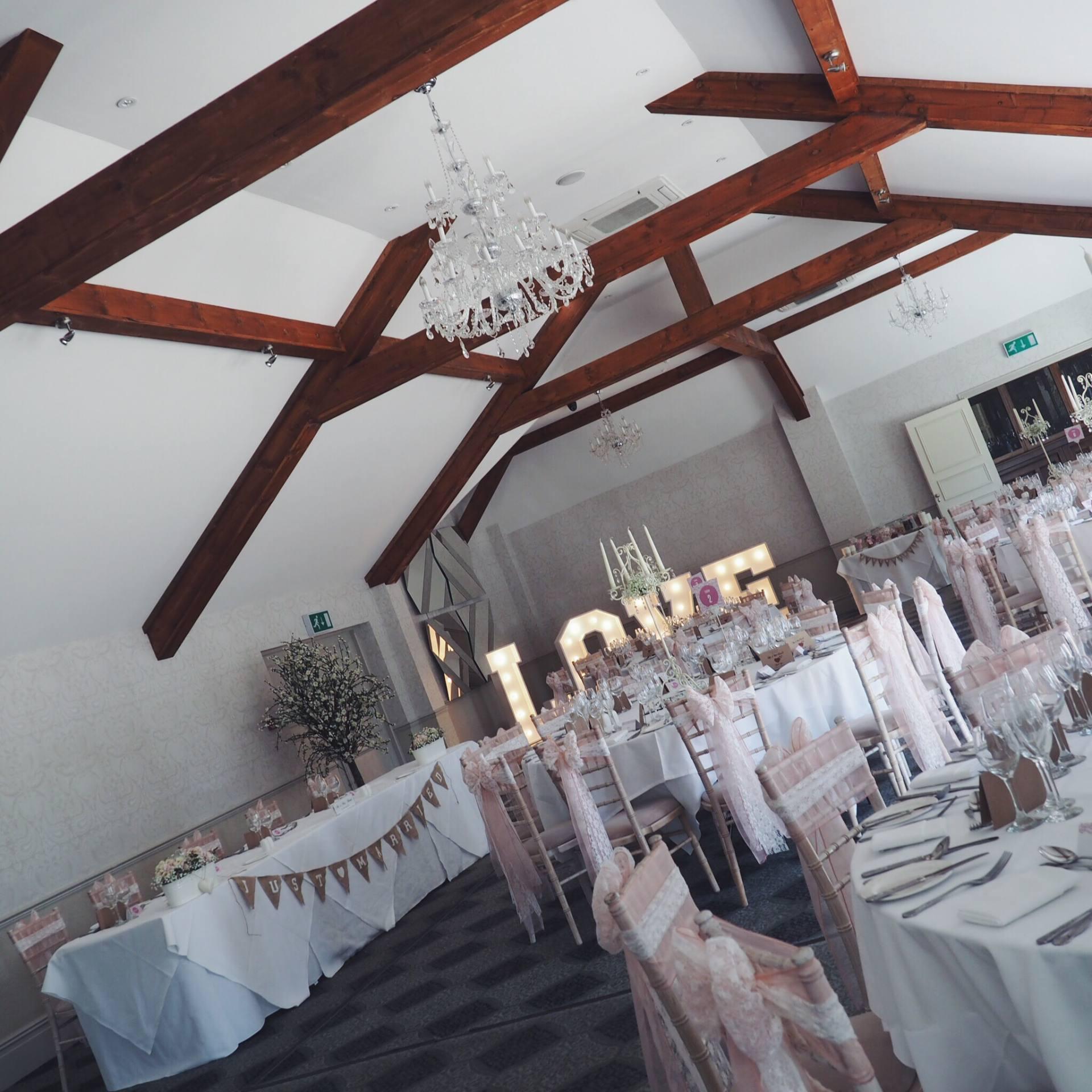 Wedding at the Coed-Y-Mwster