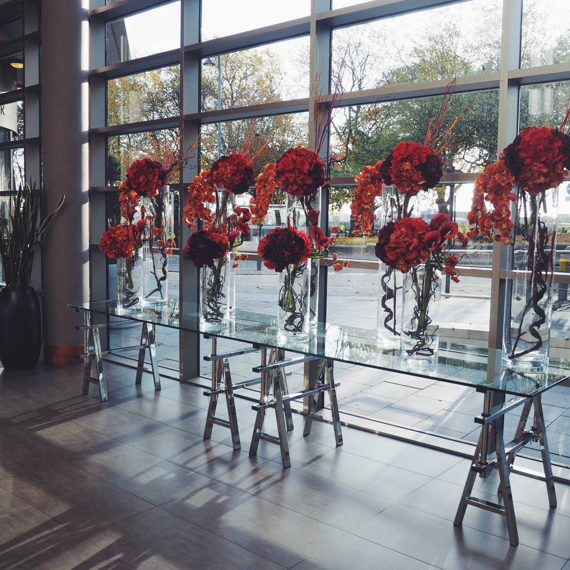 Hotel La Tour Birmingham flowers