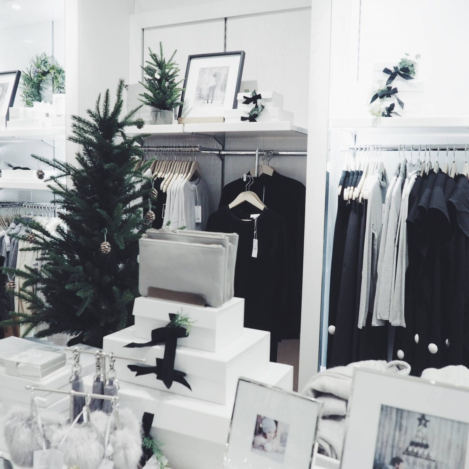 Christmas shopping at The White Company