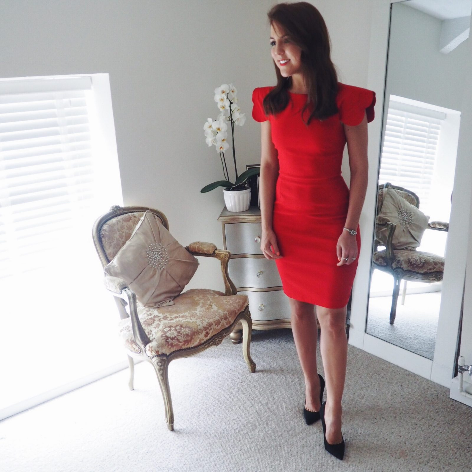 Things to look forward to in September featuring the Vesper247 red Poppy dress