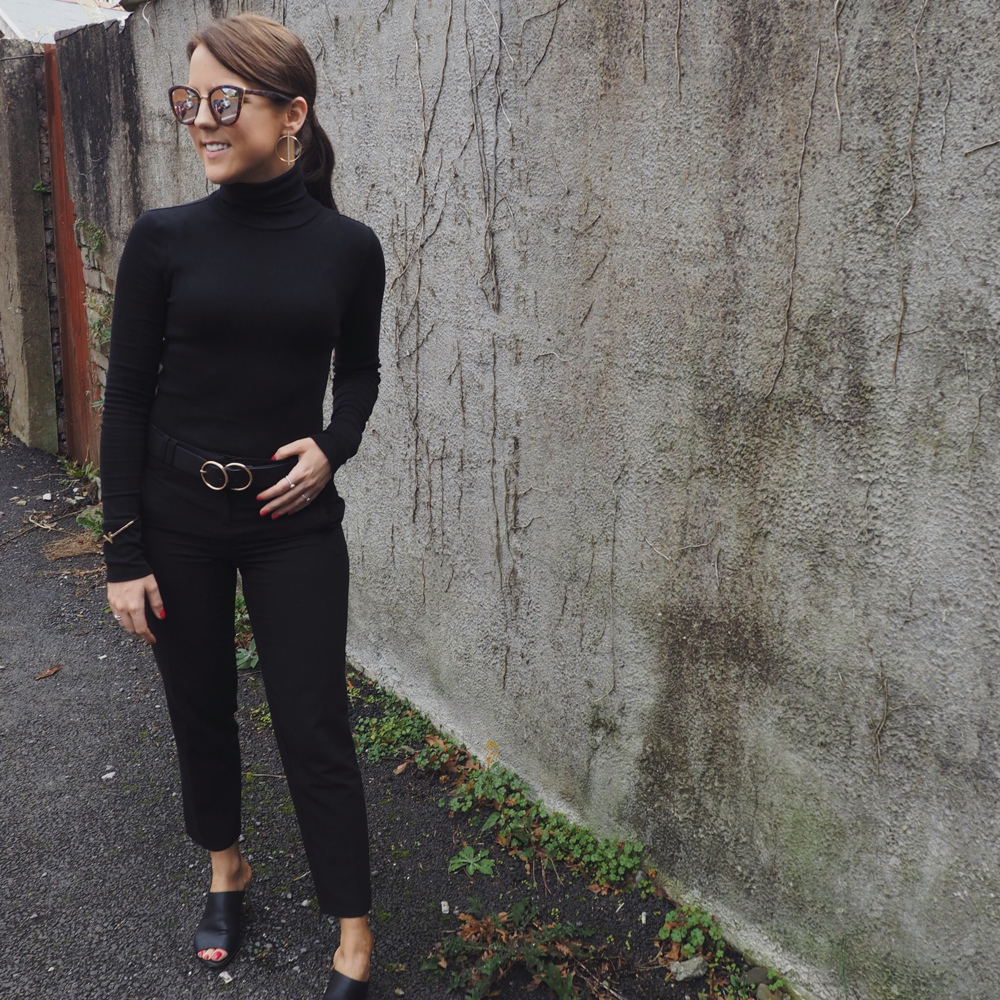 OOTD: all black everything