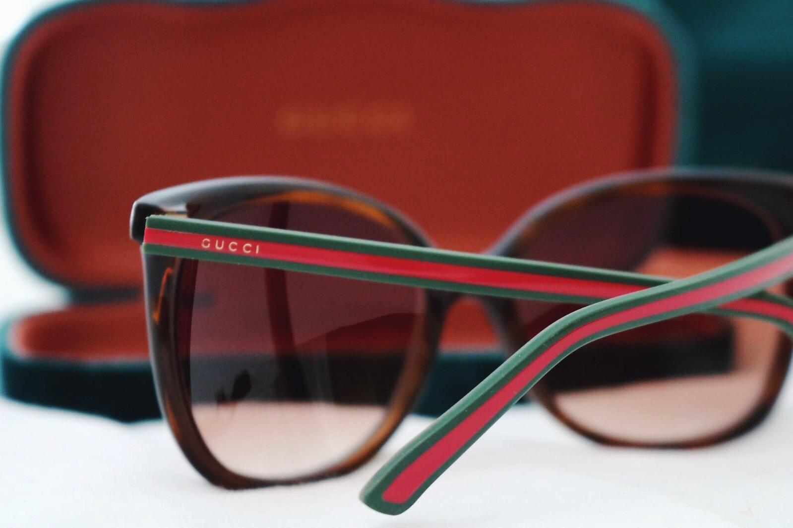 Gucci glasses and Gucci sunglasses