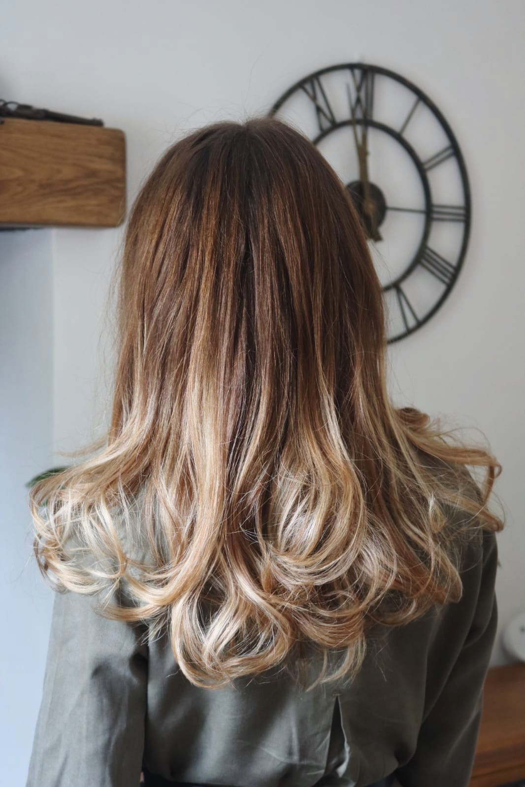 Blonde balayage for the summer